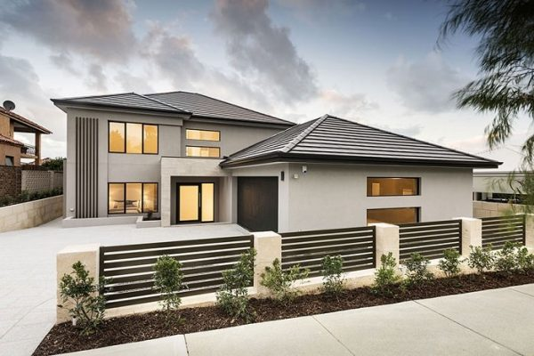 Luxury-built home namely