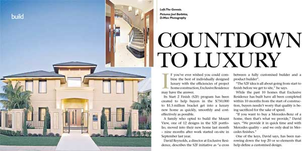 Perth best luxury home builder