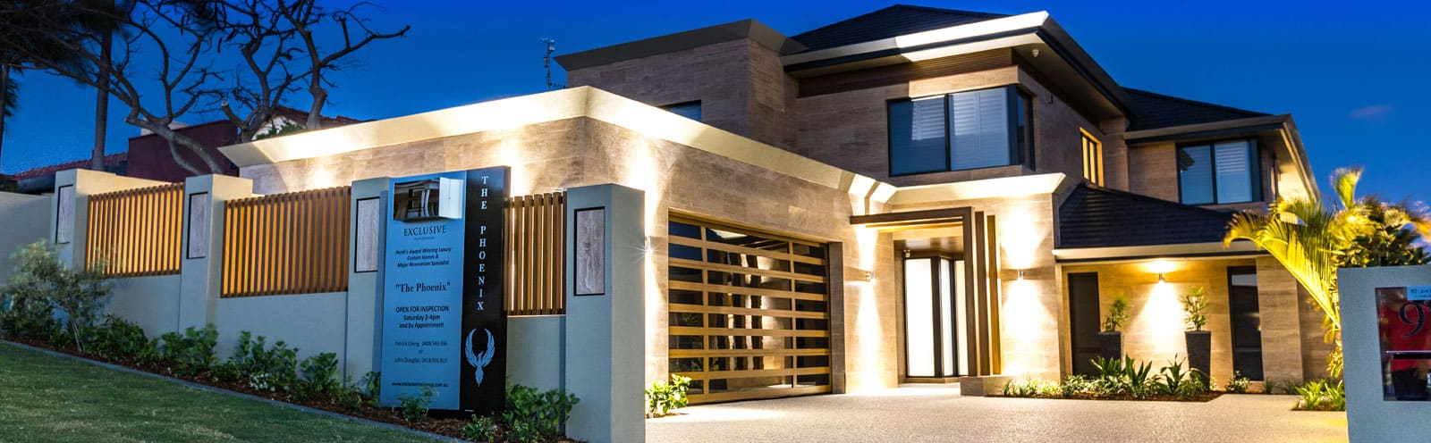 Perth custom display homes