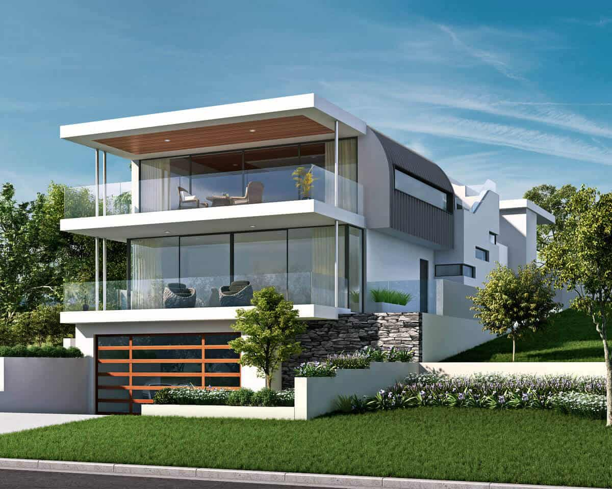 Custom luxury home in Cottesloe