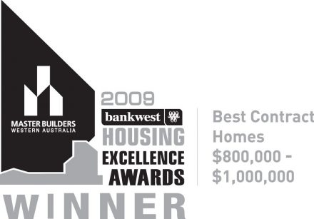 The 2009 MB winning award for Exclusive Residence.