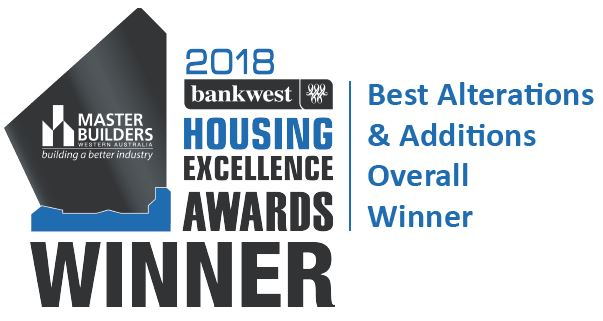 The 2018 MB winning award for Exclusive Residence.