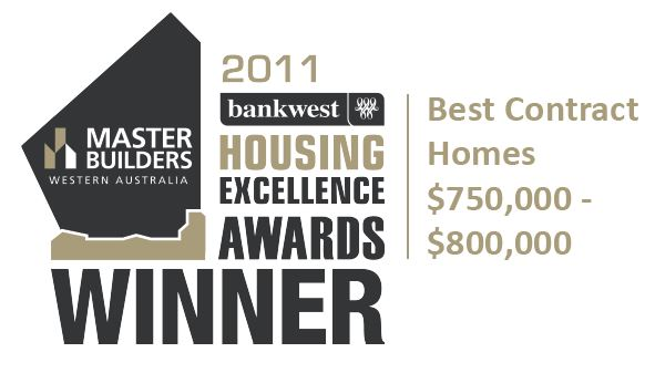 The 2011 MB wining award for Exclusive Residence.