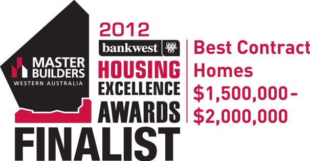 The 2012 MB winning award for Exclusive Residence.