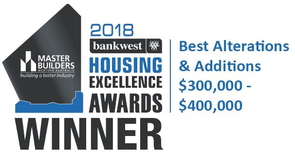 The 2018 MB wining award for Exclusive Residence.