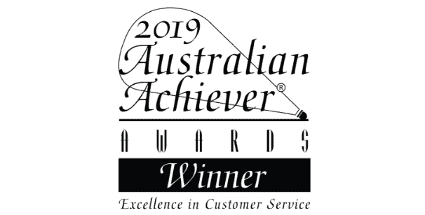 The 2019 Australian Achiever winning award for Exclusive Residence.