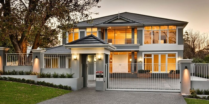 """Luxury-built home namely """"The Iris - Dalkeith""""."""