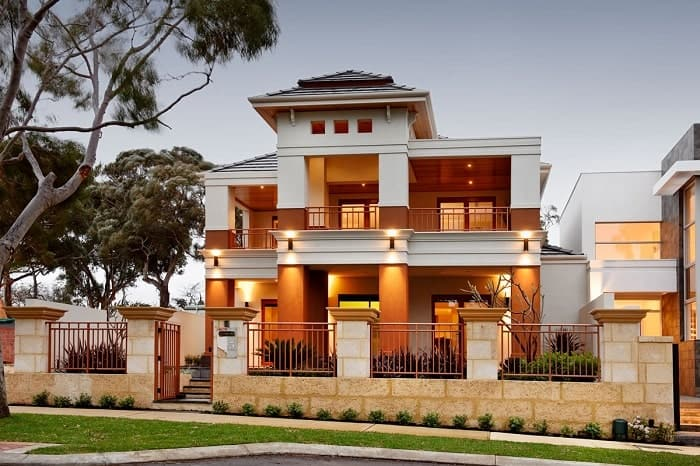 """Luxury-built home namely """"The Siam - Swanbourne""""."""