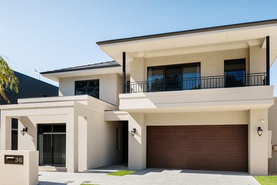A luxury home project (The Narla) in Swanbourne.