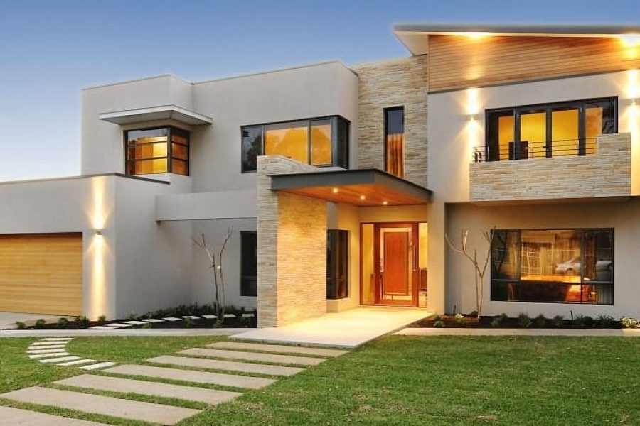 A luxury home project (The View) in Dalkeith.